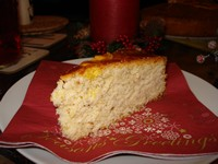 Vasilopita - greek new year cake